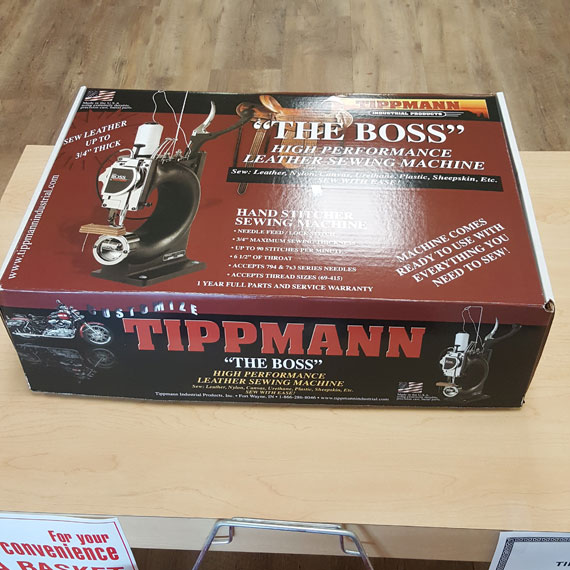 Tandy Now Carries The Tippmann Boss Leather Sewing Machines Magnificent Tippmann Boss Sewing Machine