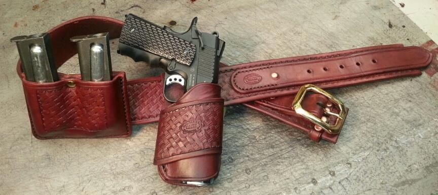Cowboy action Wild Bunch Holster pattern - Gun Holsters