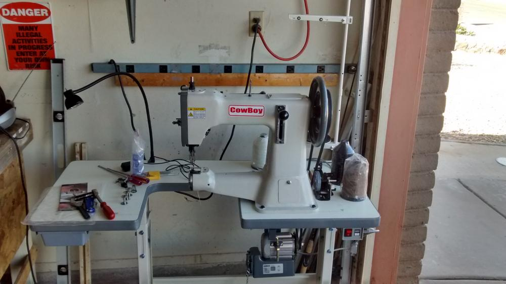 cowboy 3200 leather sewing machine