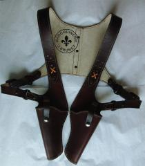 1930's Gangster Style Double Shoulder Holster