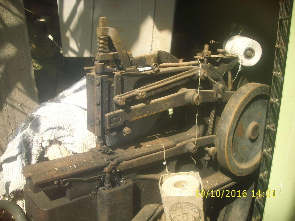 landis 3 sewing machine