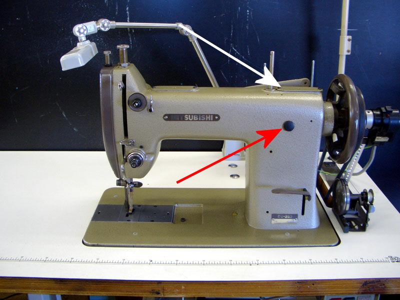 Protex Ty40 Leather Sewing Machines Leatherworkernet Impressive Mitsubishi Sewing Machine Manuals