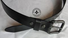 Black Belt with Hex Screws