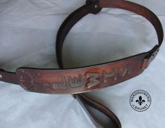 Hand Carved Adjustable Sling (with Moose)
