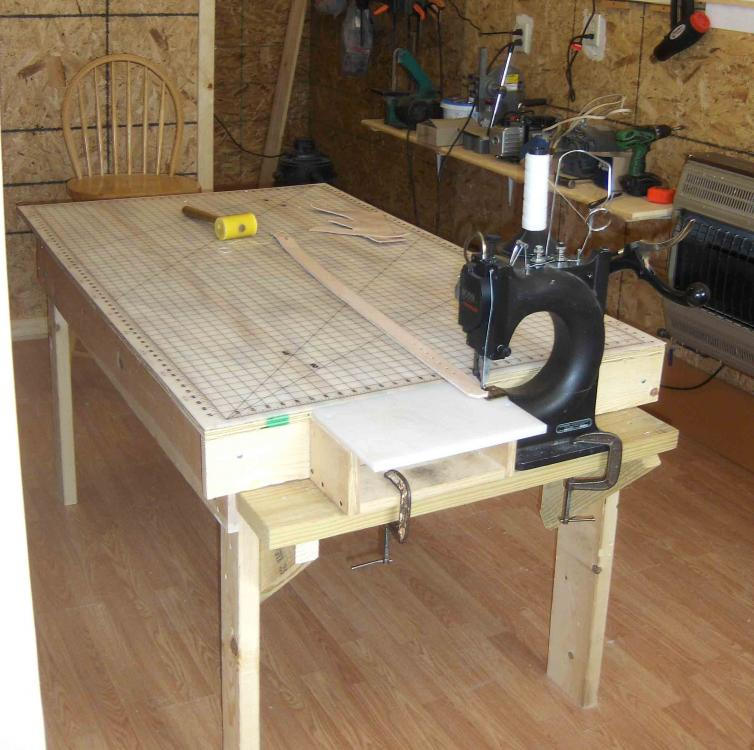 Harbor Freight Workbench Or Alternative Leather Tools
