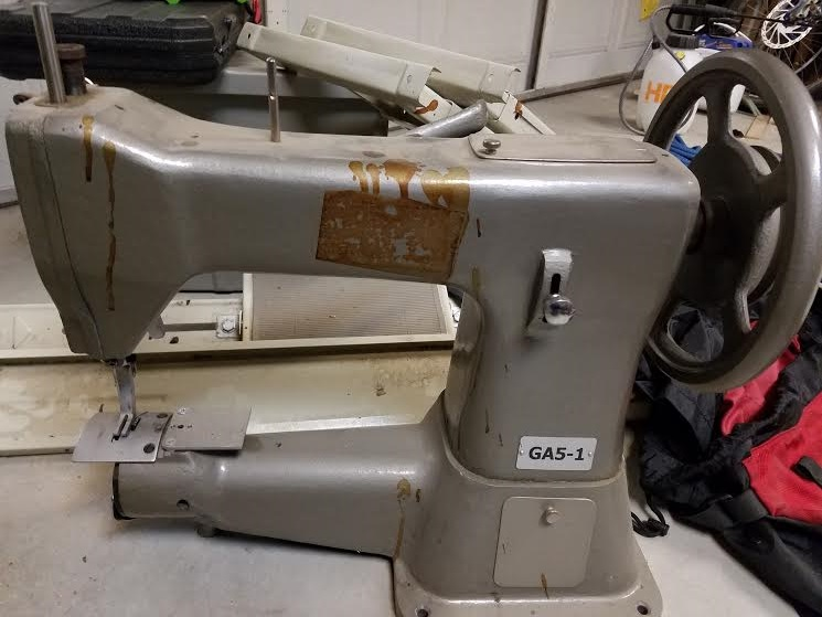 GA4040 For Sale Asking 4044040 Used Leatherworkernet Beauteous Ga5 Sewing Machine