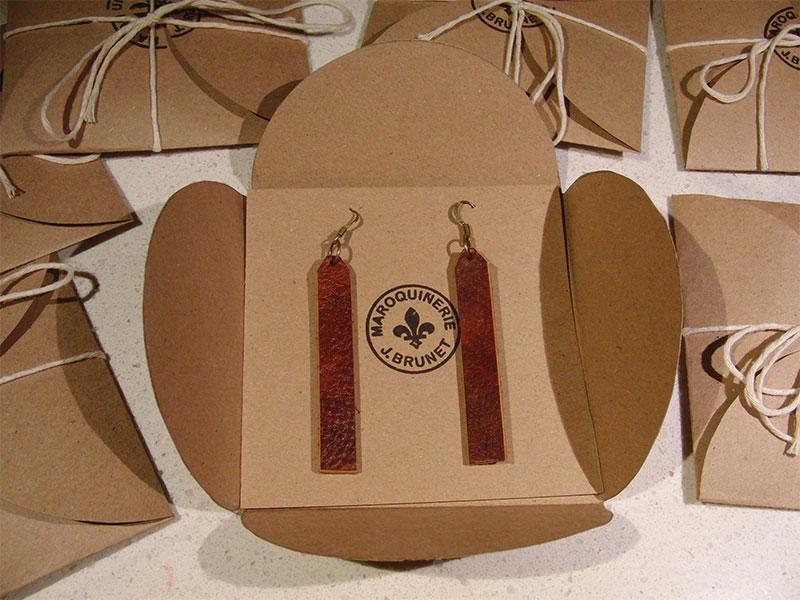 Bar Earrings (Packaging Open)
