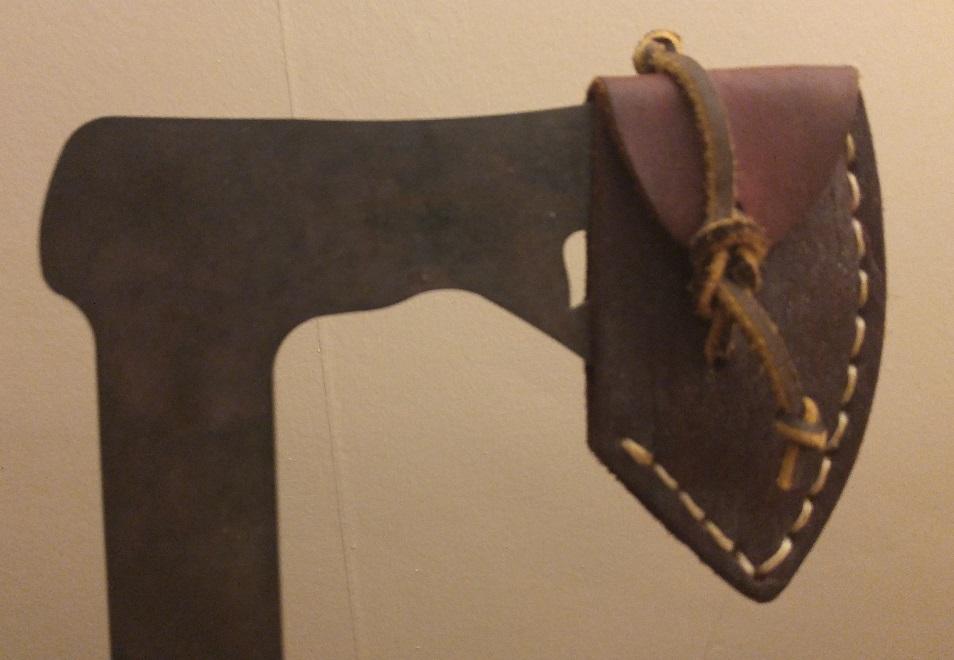 viking axe sheath how do i do that leatherworker net