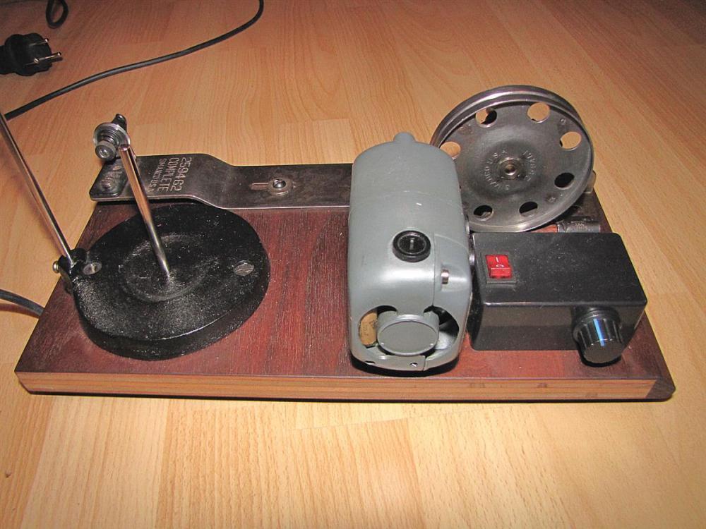 Diy Electric Bobbin Winder Singer 111 And 45k Type