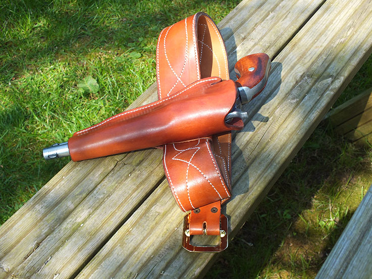 Colt Dragoon Gun Rig - Gun Holsters, Rifle Slings and Knife