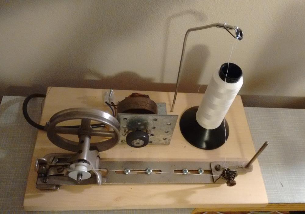 Diy electric bobbin winder singer 111 and 45k type for Electric motor winder jobs in saudi arabia