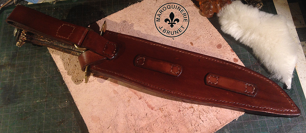 Bowie Knife Sheath (Back)