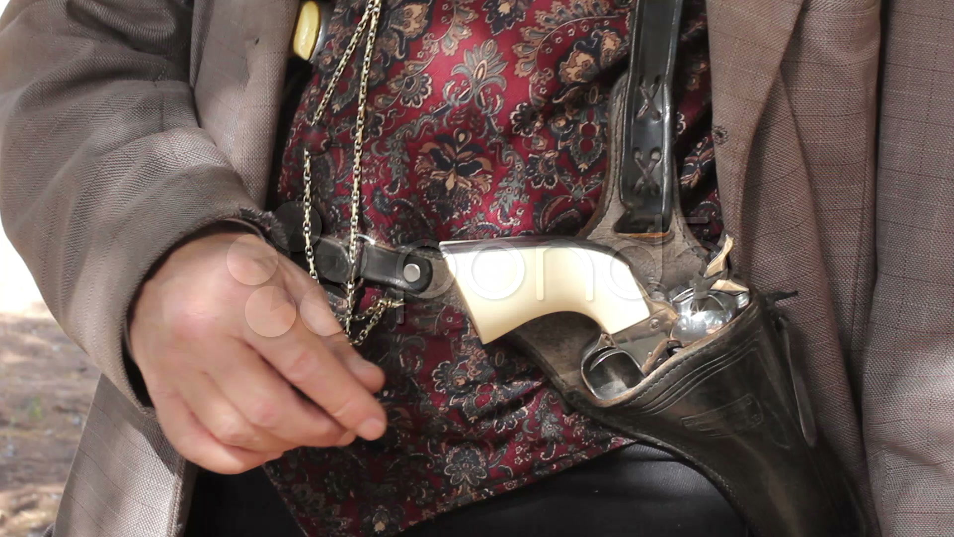 Doc Holiday Shoulder Holster Pattern Needed - Gun Holsters