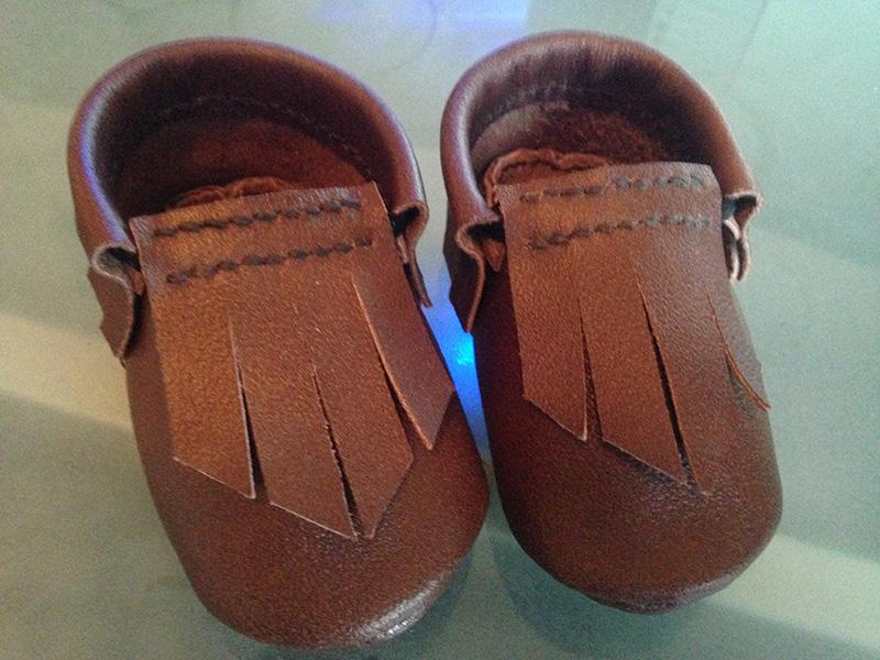 Baby Moccasins (6-12 Months)