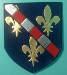 Heraldic Shield (gilded)