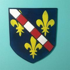 Heraldic Shield - House Vimont Descendant