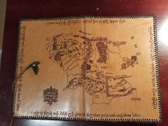 Middle Earth Pyrography