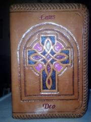 Front of her Bible