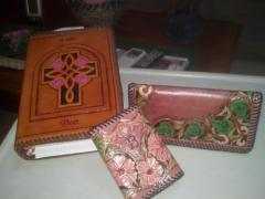 Bible, wallet, checkbook cover