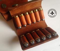 Bifold Ammo Belt Pouch (open)