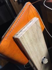 Hand stitching my first Bi-Fold wallet