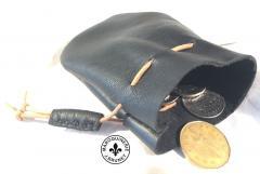 Mirrabella Lambskin Coin Pouch (Open)