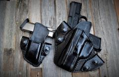 FN 40 snap on holster and pouch