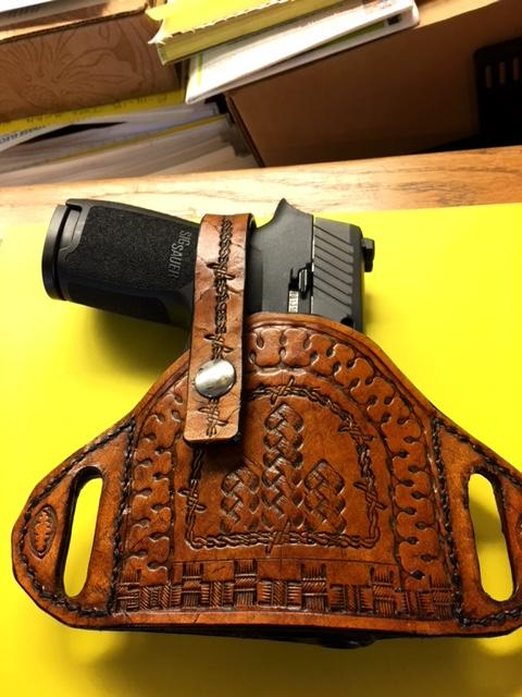 First 'Clam shell' CCW/ open carry holster  - Gun Holsters