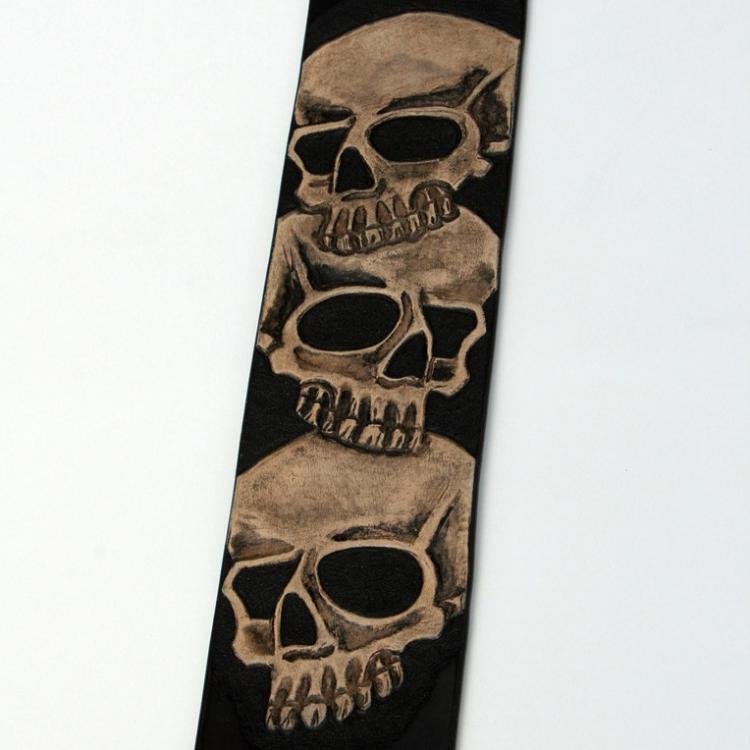 finished skull guitar strap.jpg