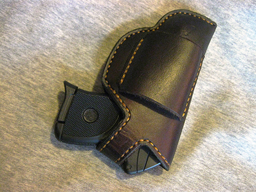 LCP HOLSTER PATTERN - Patterns and Templates - Leatherworker net