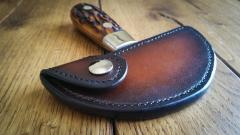 Round Knife Sheath Saddlers Journal Article