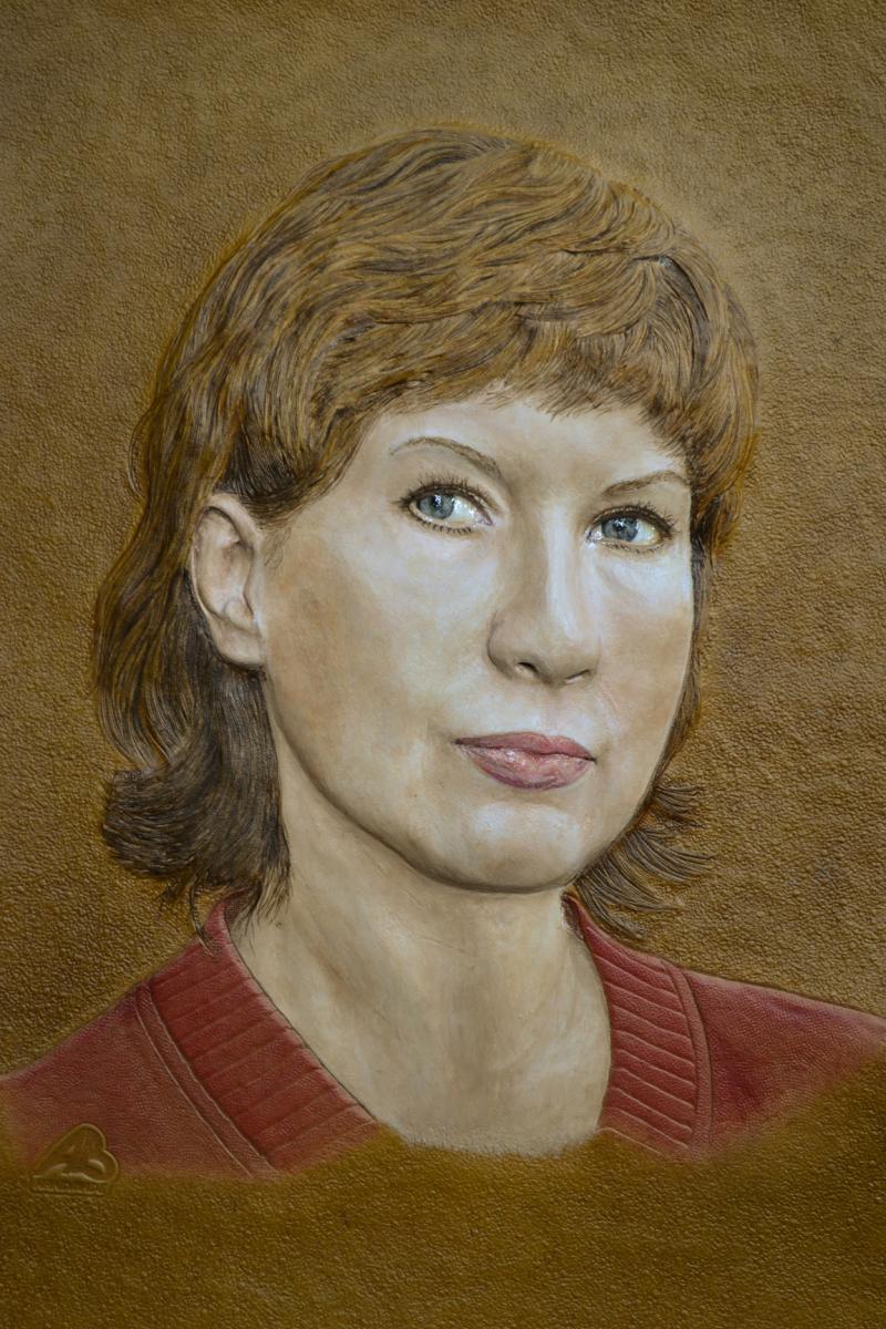 Portrait of wife