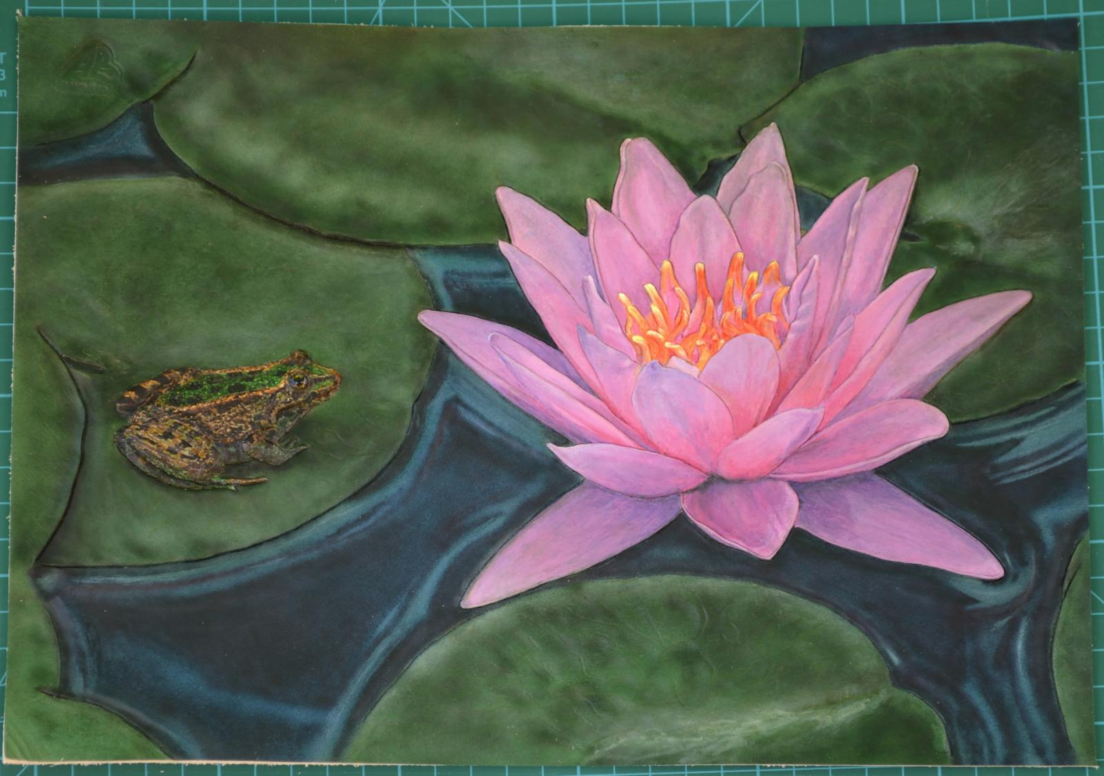 Frog & Lotus