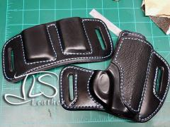bullpup holster in black_blue