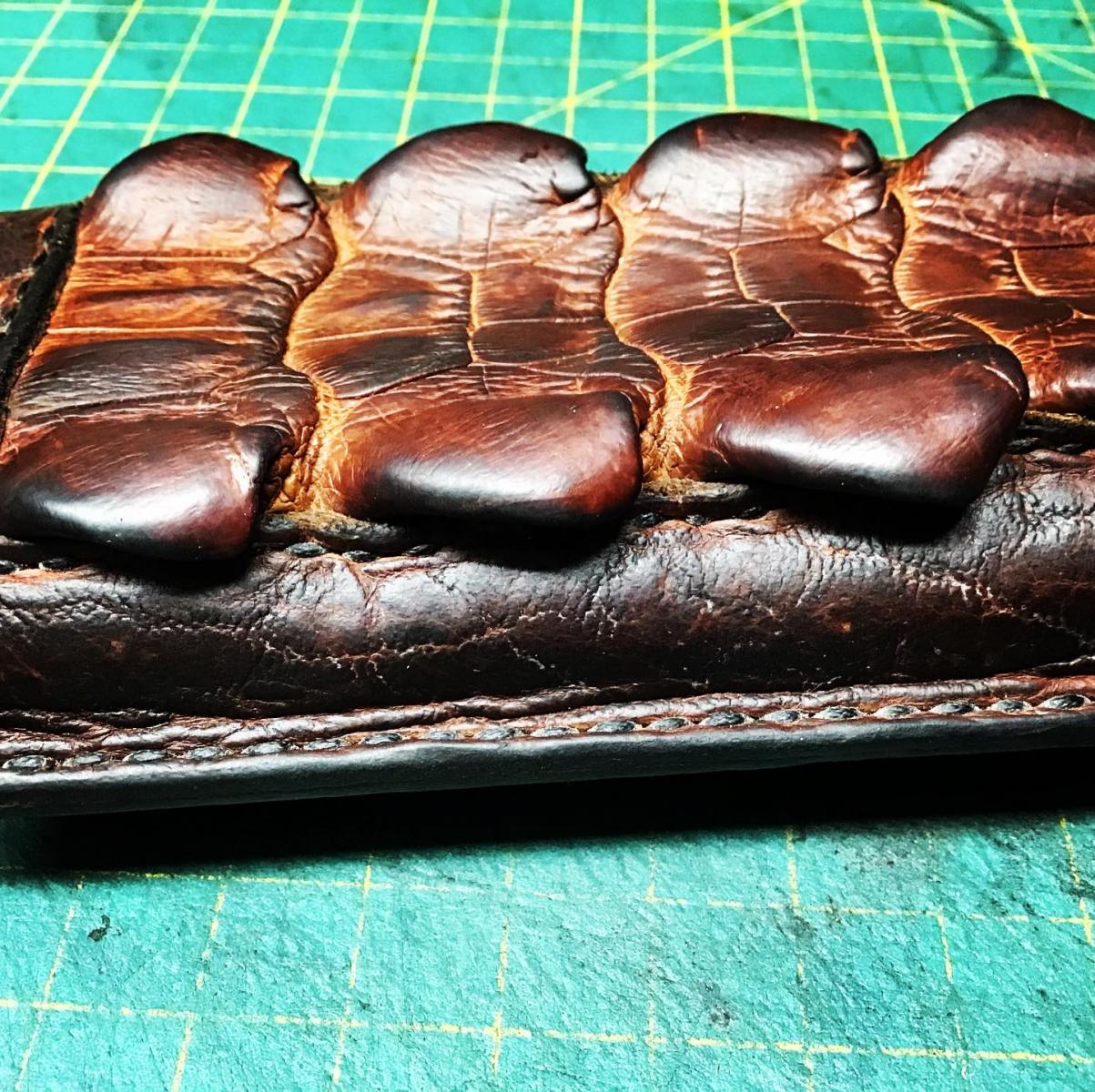 Gamber leather crafting