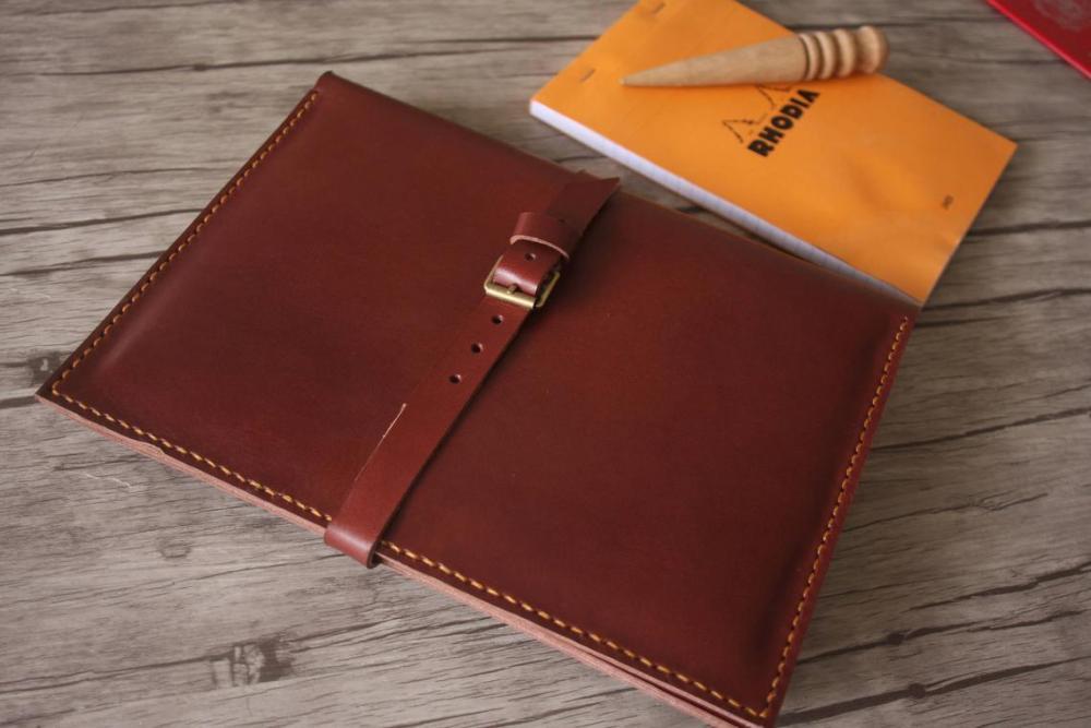 Burgundy MacBook leather holder 2.jpg
